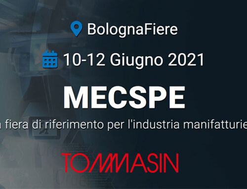 Tommasinutensili@Mecspe 2021 – dal 10 al 12 Giugno