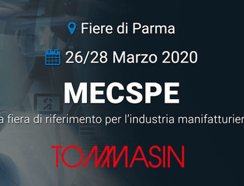 Tommasinutensili@Mecspe 2020 – dal 26 al 28 Marzo