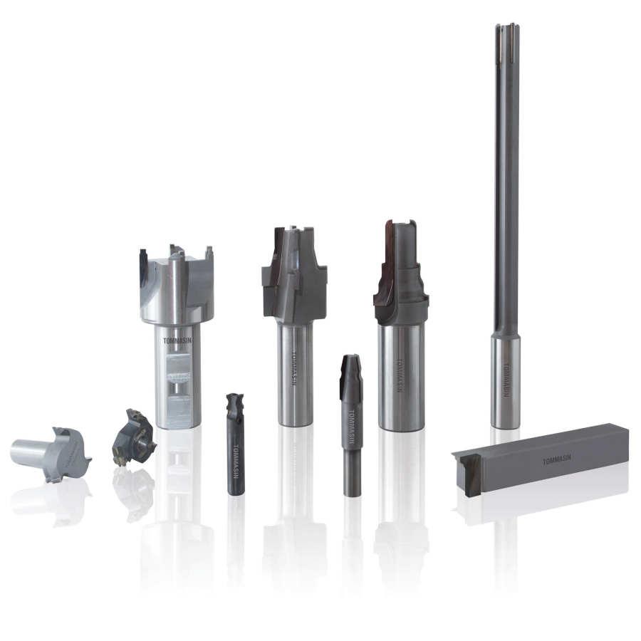 Utensili in PCD e metallo duro